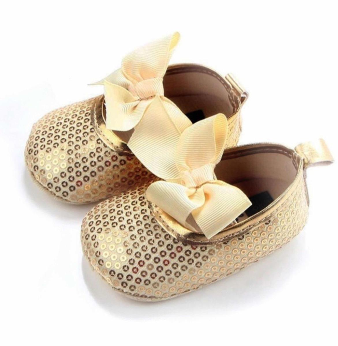 bd76af5d68a20 Zapatos Balerinas Para Bebé. Dorados (12 Cm.) -   149.00 en Mercado ...
