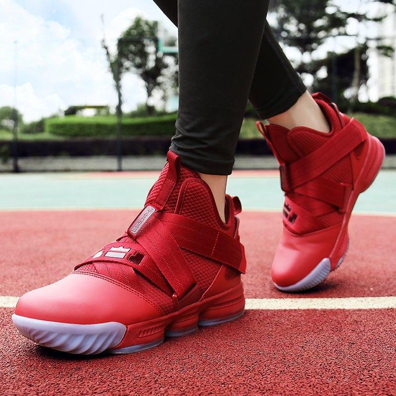 4b66a90aa8b Zapatos Baloncesto Lebron Alto Top Para Hombres -   773.47 en ...