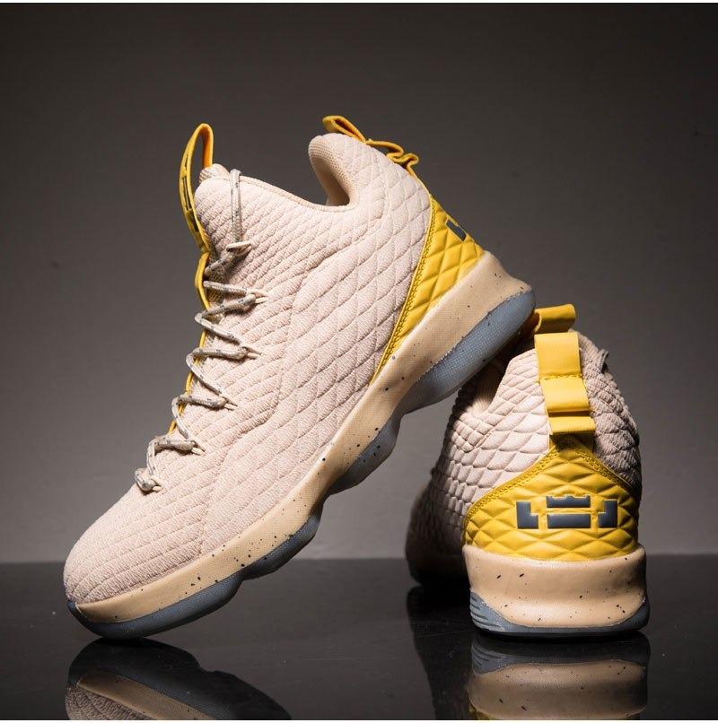 3e54fad39e6 Zapatos Baloncesto Lebron Alto Top Para Hombres