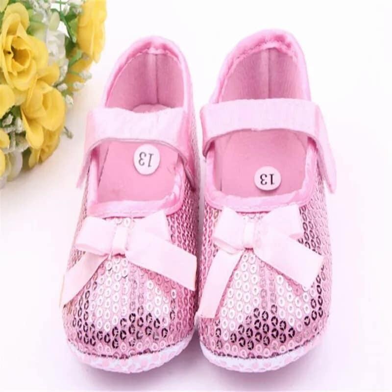 65d41edac Zapatos Bebé Niña Brillantes Calzado Vestir Rosa -   250.00 en ...