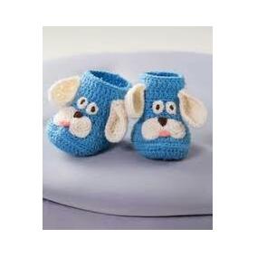1bfb896d9 Lindos Zapatos Para Niño Y Niña Tejidos En Crochet en Mercado Libre Colombia