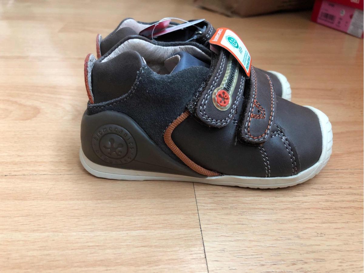 San Francisco b9525 36a44 Zapatos Biomecanics Para Niño Color Café Increibles Talla 22