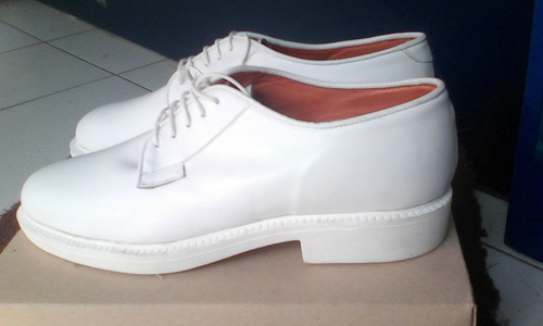zapatos blancos 100% cuero calidad,confort bella conza