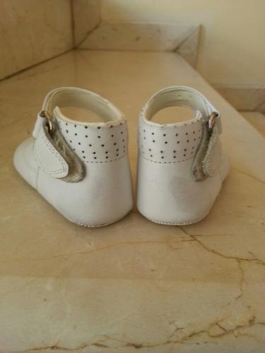 zapatos blancos bebe nro 14 navidad , fiesta, ropa, bautizo