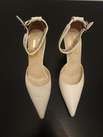 25246e6b Zapatos de Mujer Blanco, Usado en Mercado Libre Argentina