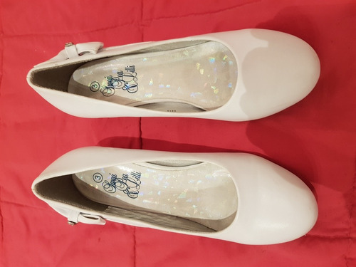 zapatos blancos talla3