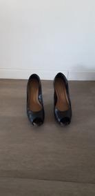 1023e71b Zapatos Altos Boca De Pez Via Uno Pez - Stilletos de Mujer Negro en ...