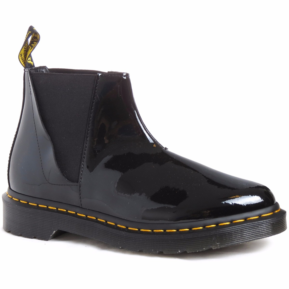 1c6e341cea6d9 zapatos bota media dr martens bianca charol mujer importados. Cargando zoom.
