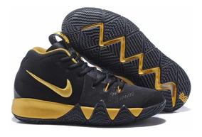 designer fashion retail prices look out for Zapatos Botas Botines Basket Nike Kyrie Irving 4 Black Gold