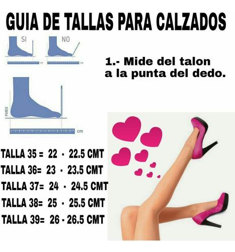 zapatos botas botines sandalias de mujer nuevos consulta