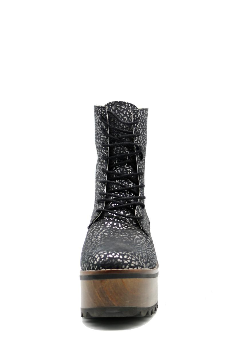 b82879c8 Zapatos Botas Botinetas Borcegos Mujer Negro Leblu 296 - $ 1.499,00 ...