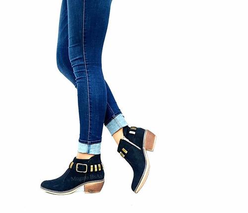 zapatos botas botinetas borcegos texanas charritos cuero