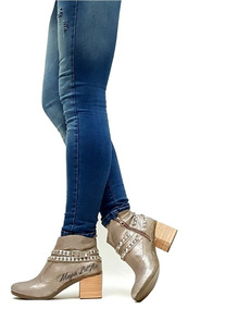 Texanas Botas 2019 Botinetas Zapatos Moda Charritos Invierno 5ALR43j