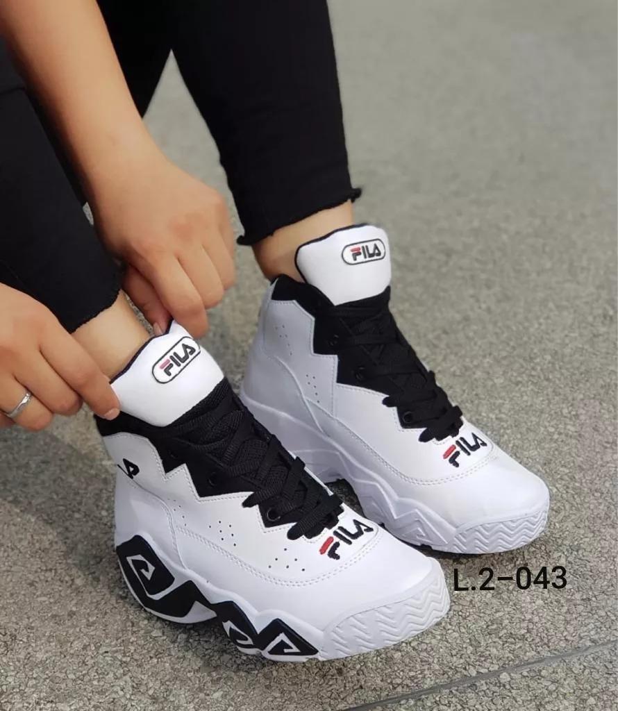 Zapatos Botas Deportivas Fila Botines Para Dama