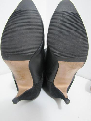 zapatos botas españolas cuero negro talla 40  envío gratis¡¡