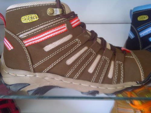 zapatos botas keen 2015 cuero damas caballeros niño unisex