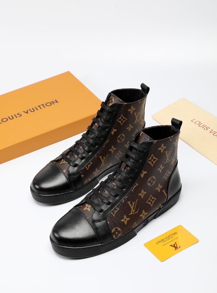 fb895928448 zapatos botas louis vuitton cuero italiano original quality. Cargando zoom.