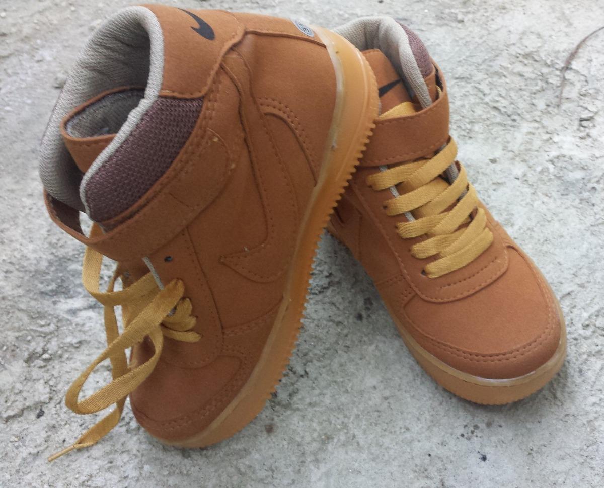 9123fd895af Zapatos Botas Nike Niño Air Force