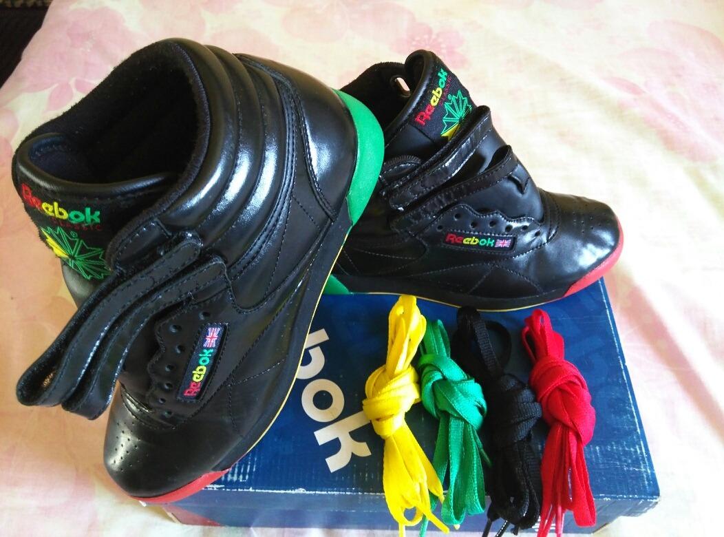 07b9a31f74f66 zapatos botas reebok frosty treats rasta originales talla 35. Cargando zoom.
