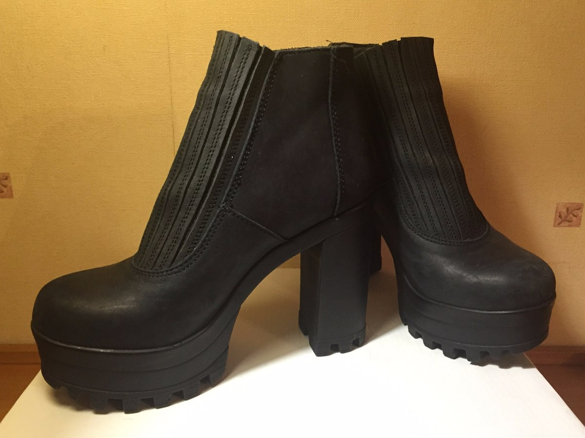 be1c94ec7b4e0 Zoom Tacos Zapatos Importadas Cargando Negras Botas Plataforma Topshop  45RZrx0nR