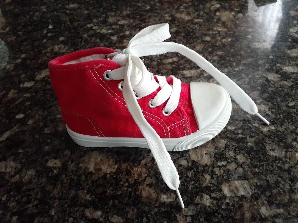 zapatos tipo converse niña