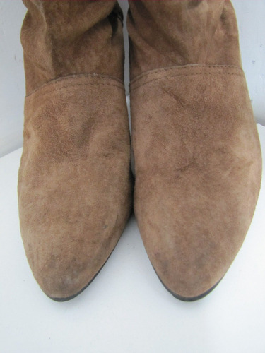 zapatos botas yugoslava cuero gamuz talla 40  envío gratis¡¡