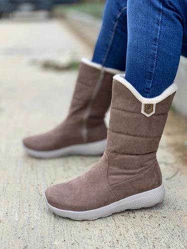zapatos botines botas termicas para mujer