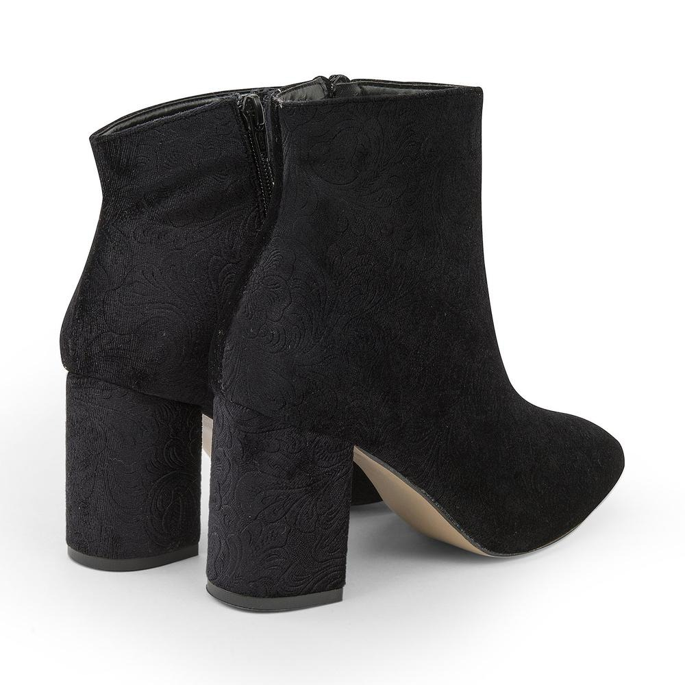 460c65fcdcb Zapatos Botines Dama Gamusa Moda Elegante Negros -   499.00 en ...