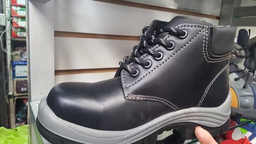 zapatos botines de trabajo con punta de pvc dielectricos