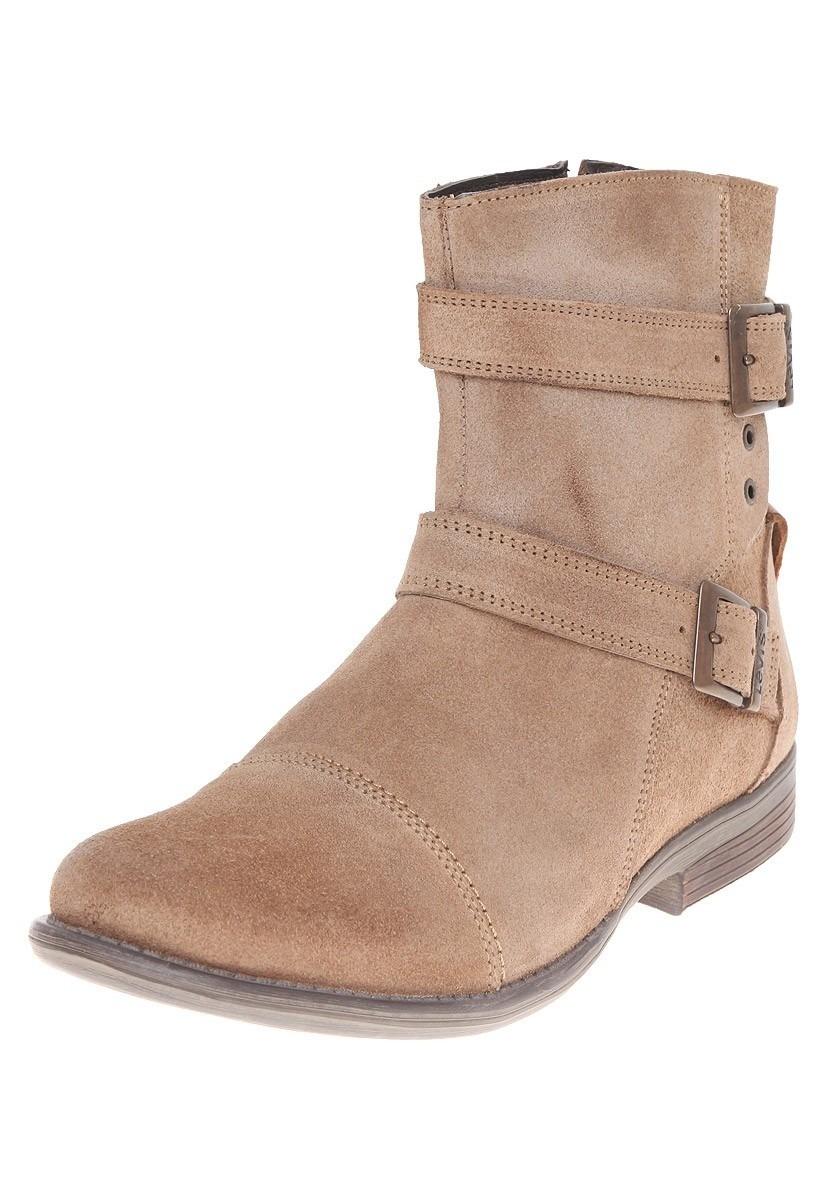 Piel 849 T Hombre Cafe L224042 Zapatos 00 Ciclope Levis Botines SExW8wF