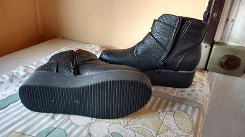 zapatos  botines  mujer numero 38 remato marca palazzio