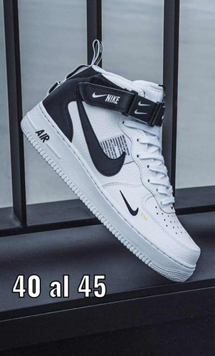 zapatos botines nike air force one premium