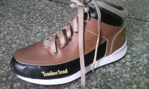 zapatos botines timberland para damas y caballeros