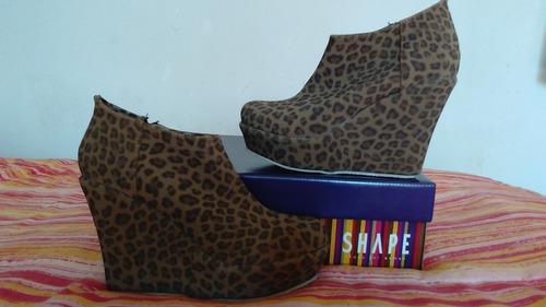 zapatos botinetas de dama nuevos