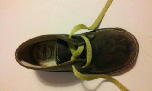 zapatos botita kickers camouflado talle 27