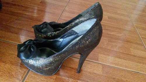 zapatos bronce numero 37