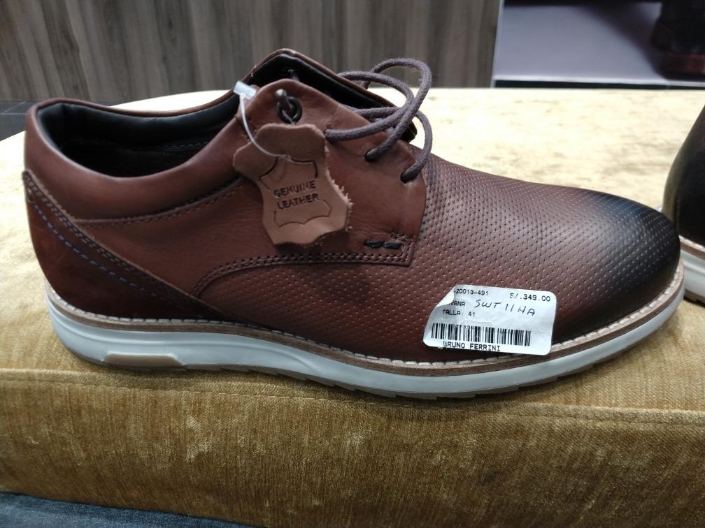 cfaa65d301 Zapatos Bruno Ferrini ¿% Cuero - S/ 349,00 en Mercado Libre