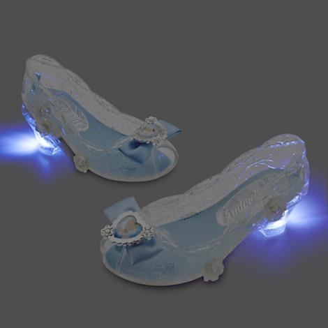 Zapatos C Luz Princesa Cenicienta Disney Store Usa Original ... ddddc1aab8cc