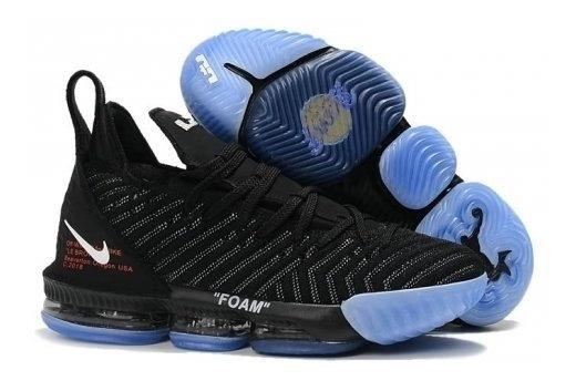 newest aa222 7fb3f Zapatos Caballeros Nike Lebron 16 Lakers Edicion