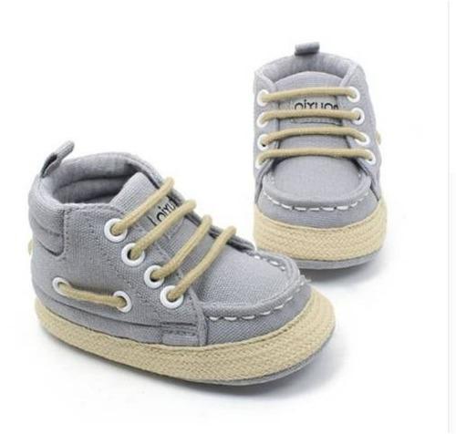 zapatos café gris tenis niño bebé ropa calzado suela blanda