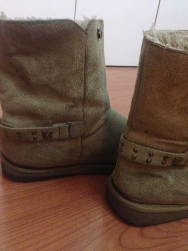 zapatos café mujer