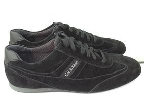 Calvin 28 Mx Zapatos Negros Suede Talla Klein Gamuza Clay ymY6vb7Ifg