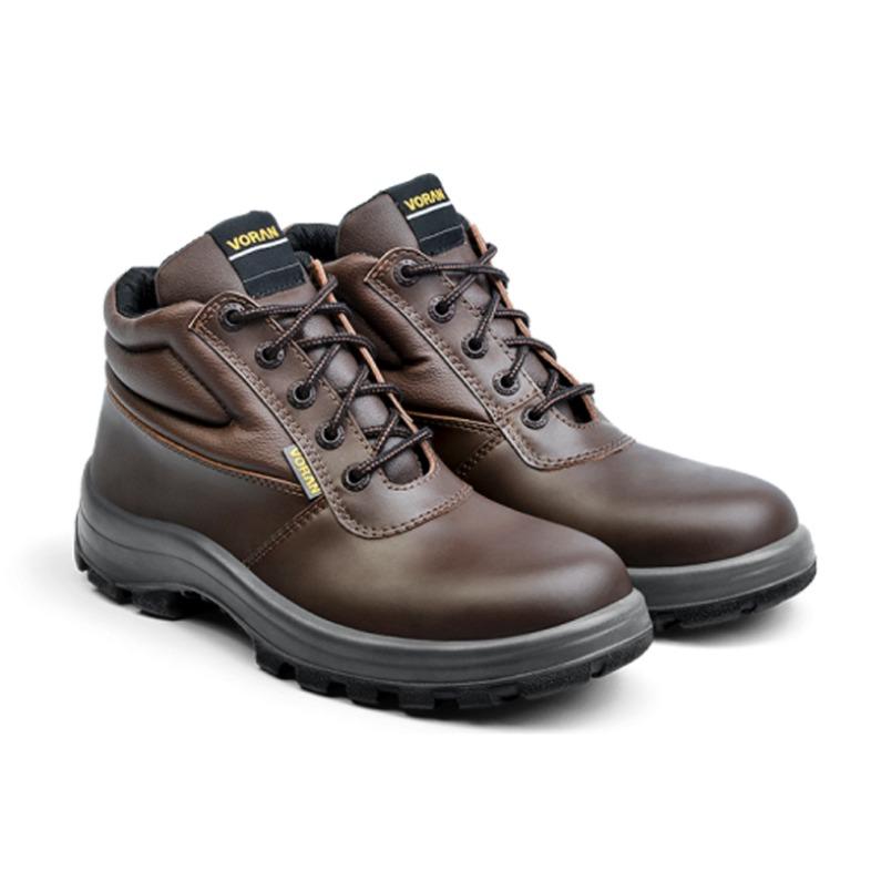 f71dc73e94f20 Zapatos Calzado Botines Seguridad Trabajo Voran Argos Marron ...