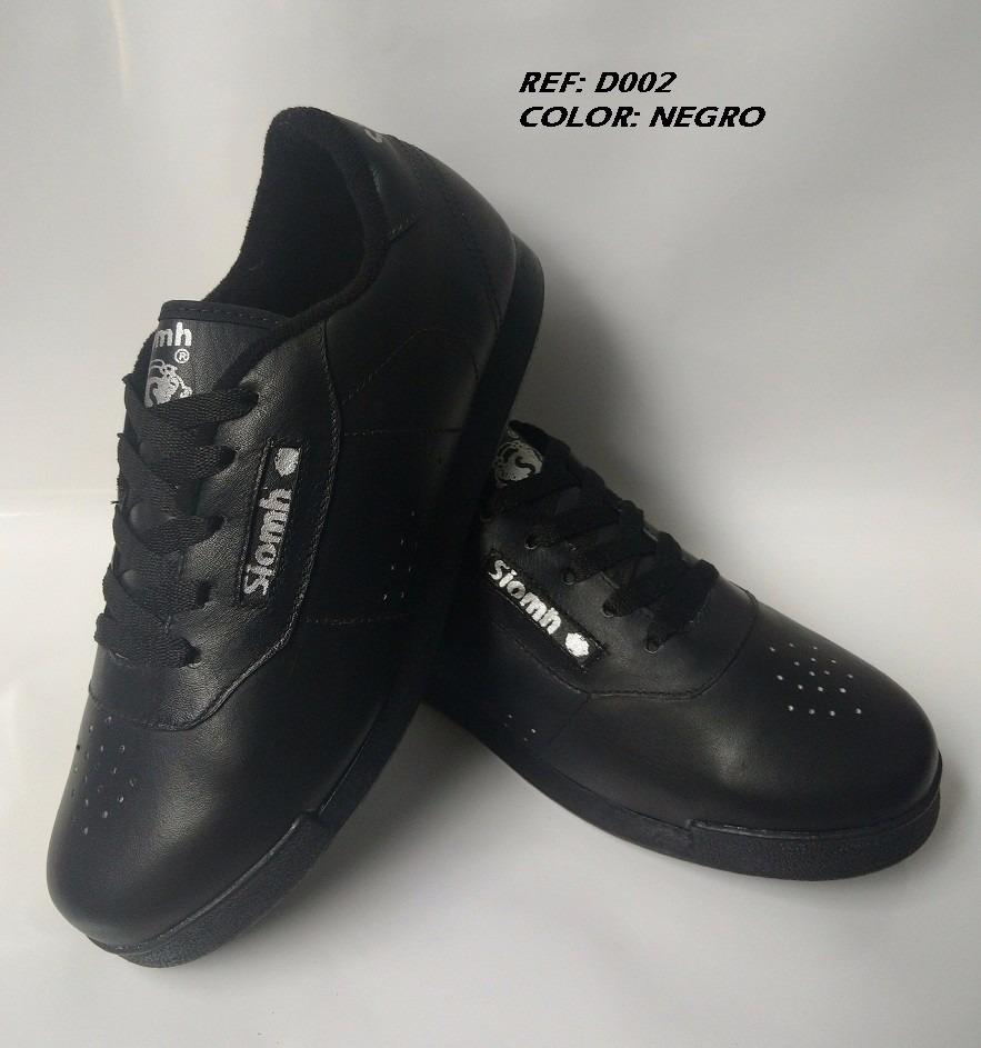 87a0a650cab zapatos calzado deportivo juvenil para colegio cuero negro. Cargando zoom.