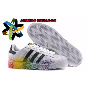 Calzados Zapatos Superstar Libre Adidas Color Mercado Cafe En bm76vYfgIy