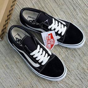 8104c801d91af Zapatos Vans Old Skool Importados Para Hombre Y Dama