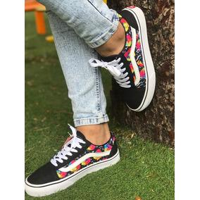 d6e1760b1 Mochila Vans Old Skool Negra - Zapatos en Calzados - Mercado Libre ...