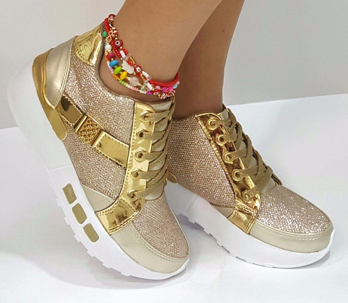 630a4d89 zapatos calzados dorado tenis dama mujer fabrica colombia. Cargando zoom.