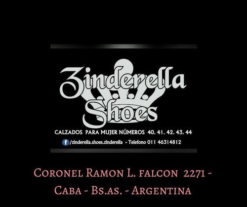 zapatos calzados zinderella shoes numeros 40 41 42 43 44