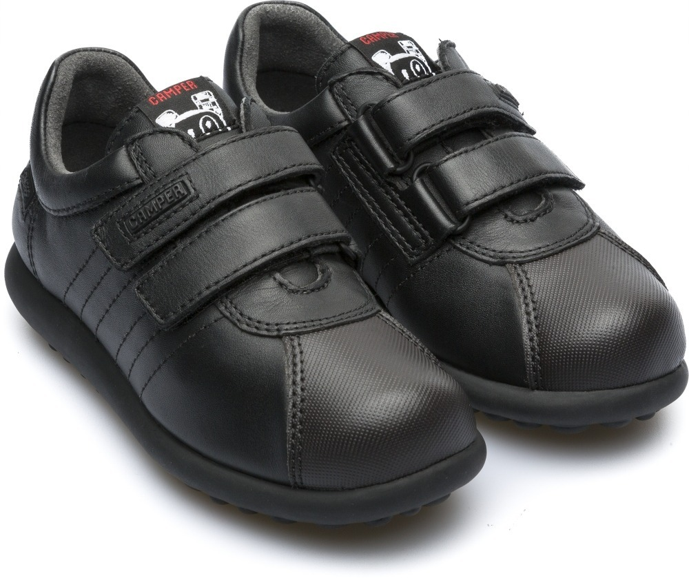 Escolar Eur Camper Zapatos 15 Pelotas Niños Negro Mx 25 6b7fgy